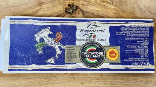 Montagnel _Italiaans_cacciatore_label